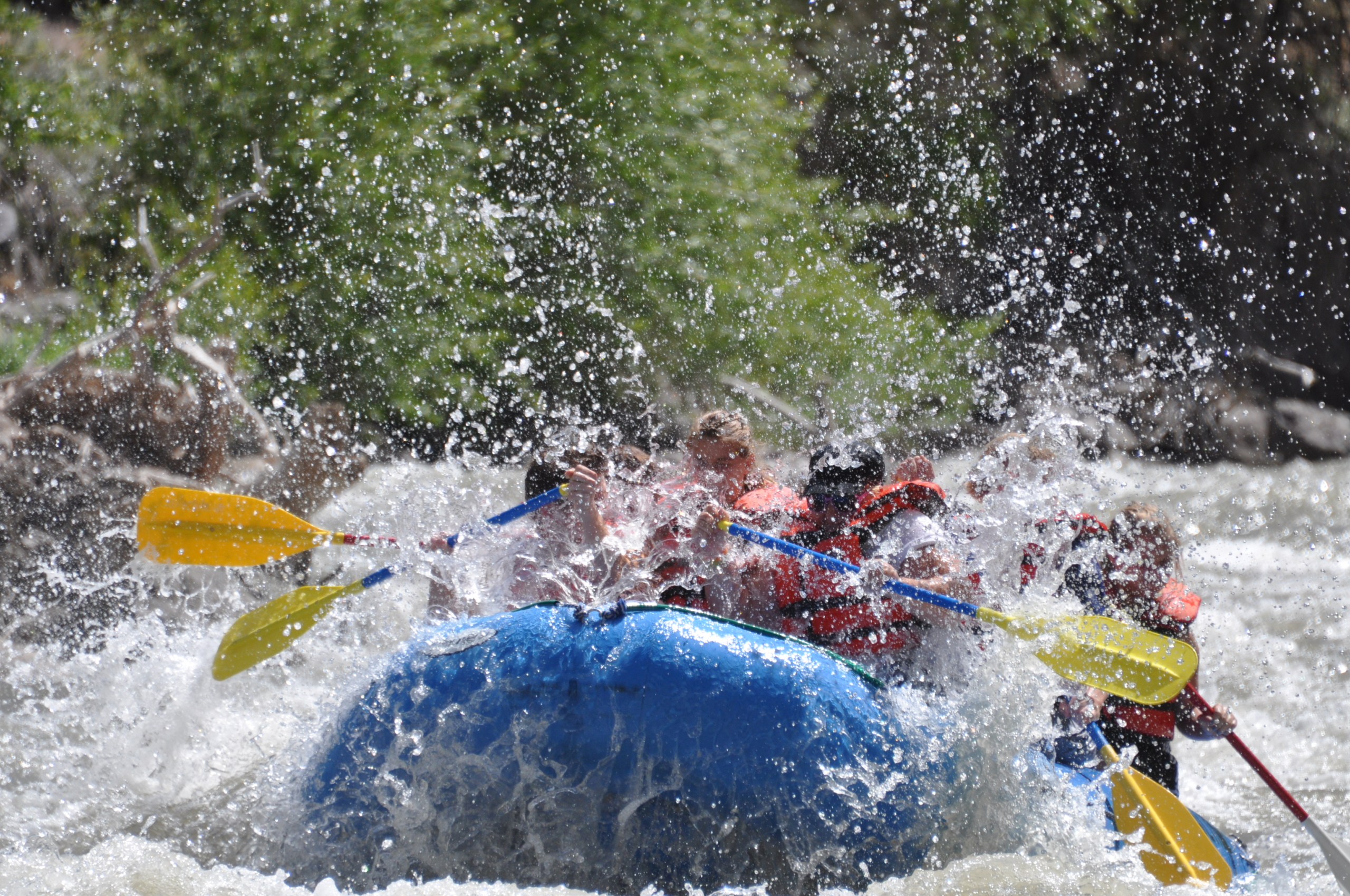 Whitewater Rafting Sevier River